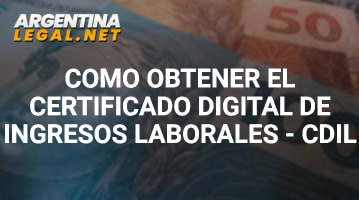Certificado digital de ingresos laborales