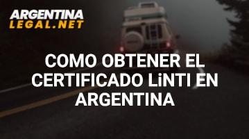 Certificado LiNTI