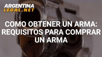 Cómo Obtener Un Arma: Requisitos Para Comprar Un Arma