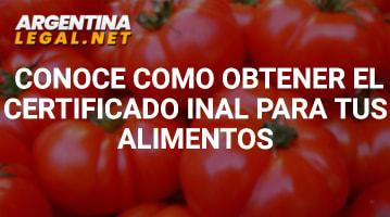 Conoce Cómo Obtener El Certificado INAL Para Tus Alimentos
