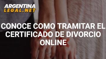 Conoce Cómo Tramitar El Certificado De Divorcio Online