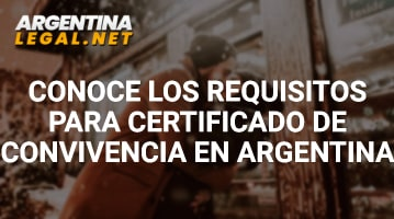 Requisitos para certificado de convivencia
