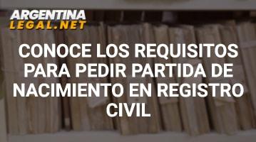 Conoce Los Requisitos Para Pedir Partida De Nacimiento En El Regristro Civil