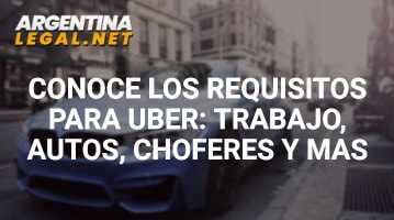 Requisitos para UBER