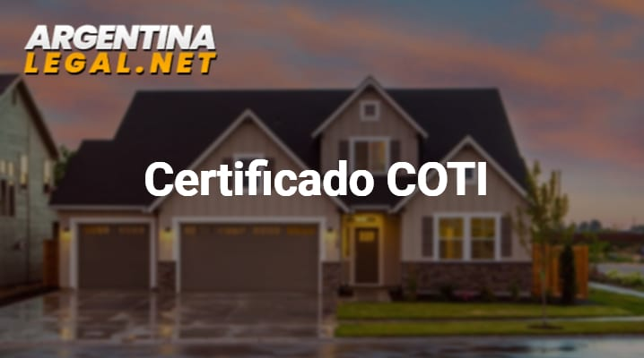 ¿Cómo Tramitar El Certificado COTI? – Código De Oferta De Transferencia De Inmuebles