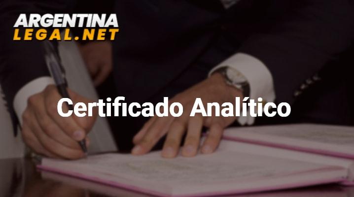 Conoce Como Pedir El Certificado Analítico De Estudios Universitarios Legalizado