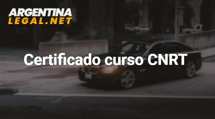 Obtén El Certificado De Curso CNRT – Comisión Nacional De Regulación Del Transporte