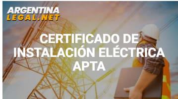 Conoce Cómo Obtener El Certificado De Instalación Eléctrica Apta