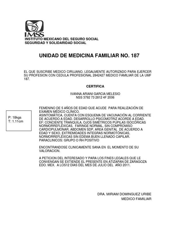 Certificado médico oficial 7 Conoce Como Obtener El Certificado Médico Oficial