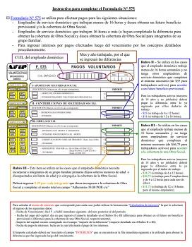 Como presentar el Formulario 575 en AFIP
