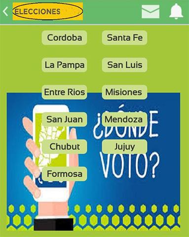 Como saber dónde voto 0 Como Saber Dónde Voto En Las Elecciones Argentinas