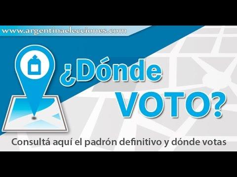 Como saber dónde voto 7 Como Saber Dónde Voto En Las Elecciones Argentinas