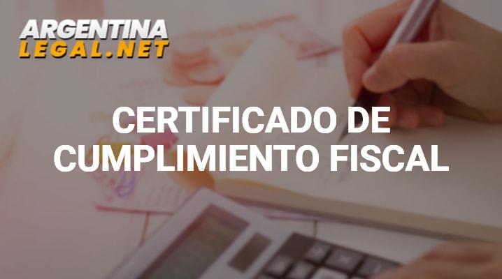 ¿Cómo Solicitar El Certificado De Cumplimiento Fiscal?