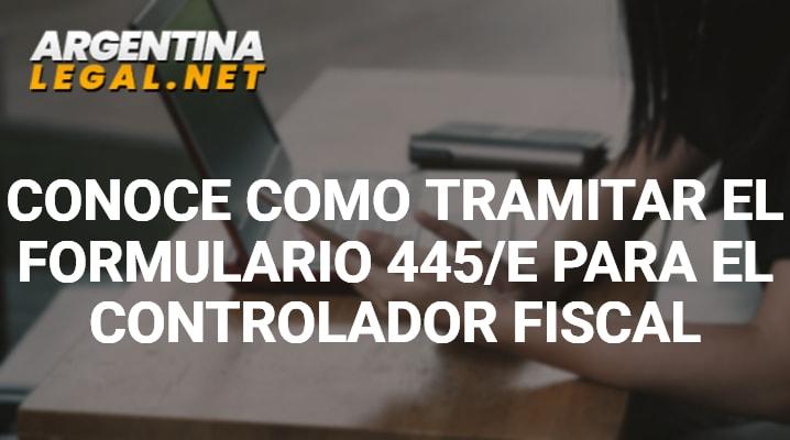 Formulario 445/E