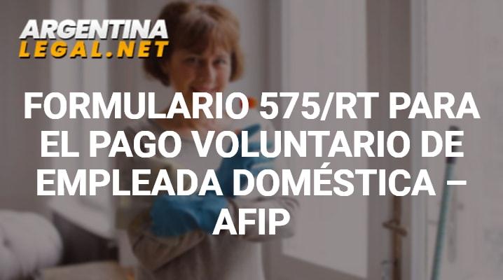 Formulario 575