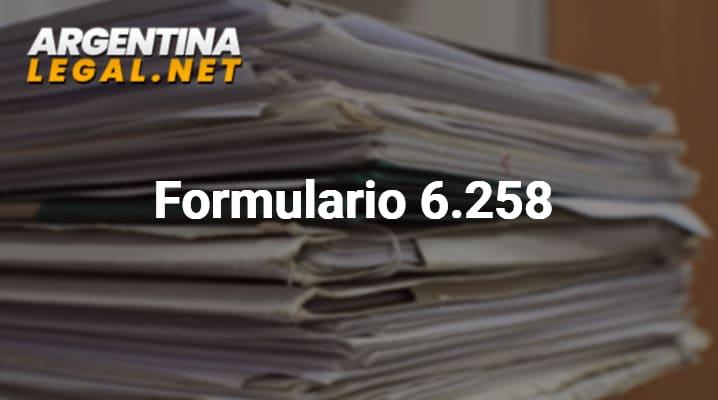Formulario 6.258