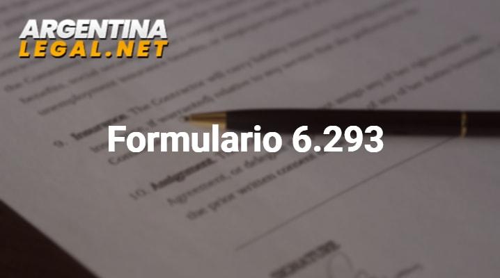 Formulario 6.293: Servicios Doméstico – Certificación Del Dador De Trabajo