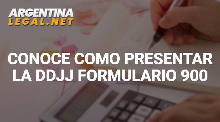 Formulario 900