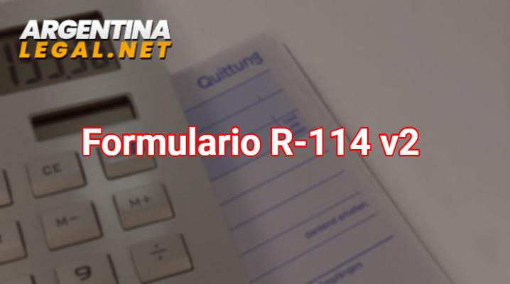 Formulario R-114 v2
