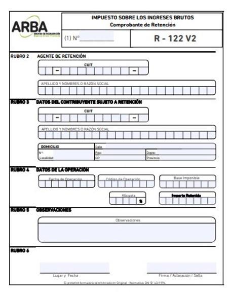 Formulario R 114 v2 4 Conoce Como Llenar El Formulario R-114 v2 De Ingresos Brutos