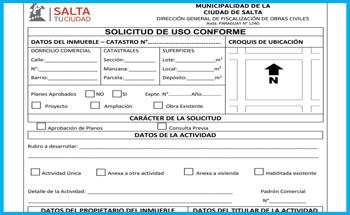 Formulario de solicitud certificado de uso conforme Conoce Como Solicitar El Certificado De Uso Conforme