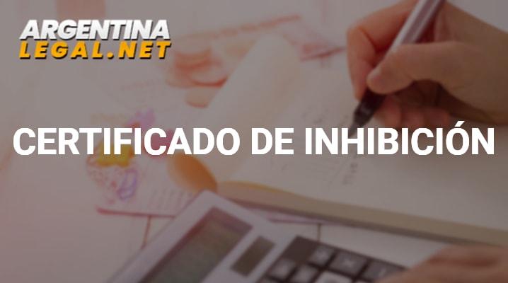 Obtén El Certificado De Inhibición O Certificado De Anotaciones Personales