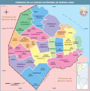 MAPA DE COMUNAS ARGENTINA ¿Cómo Saber A Qué Comuna Pertenezco? - Todo Lo Que Debes Saber Aquí