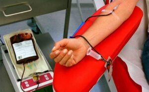 Proceso donación sangre