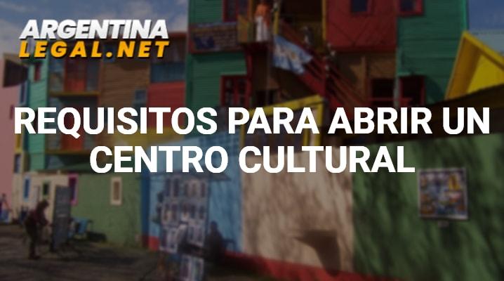 Requisitos para abrir un centro cultural