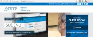 Solicitud por AFIP paso uno certificado digital de ingresos laborales