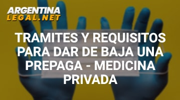 Requisitos para Dar de Baja una Prepaga
