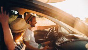 Viajar en auto