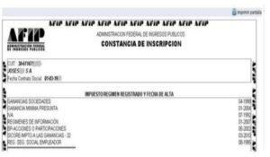 certificao e inscripción monotributo Cómo Obtener La Constancia O Certificado De Monotributo - AFIP