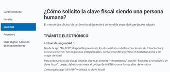Cómo Tramitar La Clave Fiscal paso 2