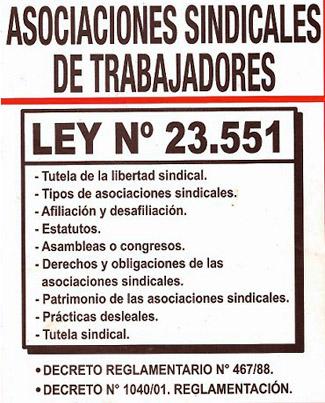 ley 23551