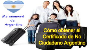 Obtén El Certificado De No Ciudadano Argentino – Cámara Nacional Electoral
