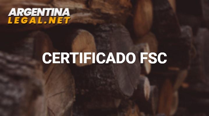 Conoce Como Obtener El Certificado FSC En Argentina