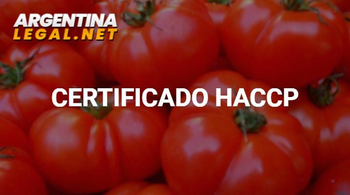 Como Obtener El Certificado HACCP De Calidad De Alimentos