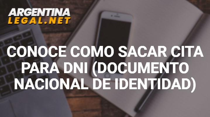 Conoce Como Sacar Cita Para DNI (Documento Nacional De Identidad)