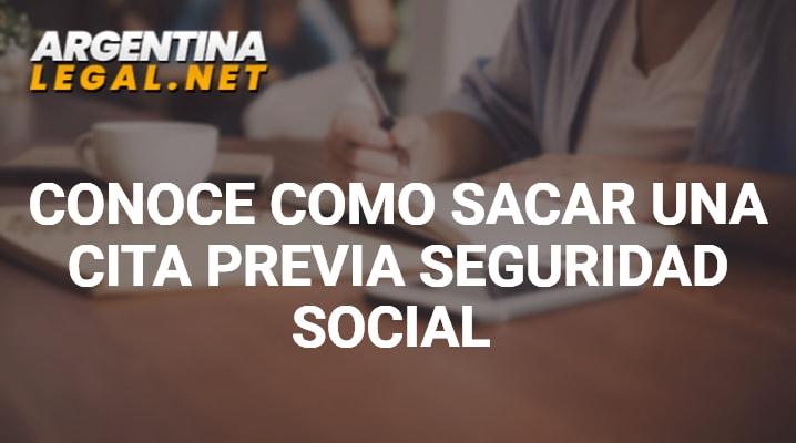 Conoce Como Sacar Una Cita Previa Seguridad Social