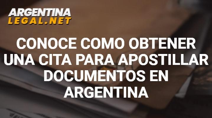 Cita para Apostillar Conoce Como Obtener Una Cita Para Apostillar Documentos En Argentina
