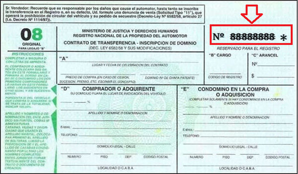 Formulario 08 1 Conoce Como Tramitar El Formulario 08 Automotor - DNRPA