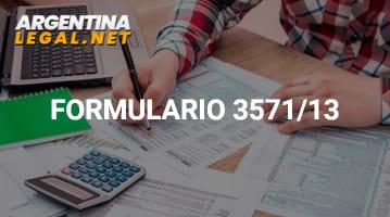Descubre Como Tramitar El Formulario De Información Resolución 3571/13