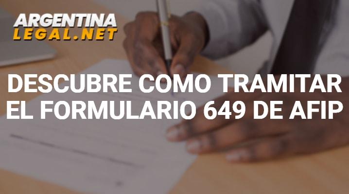 Formulario 649