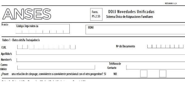 Formulario de Nacimiento 2 Tramitar El Formulario De Nacimiento ANSES