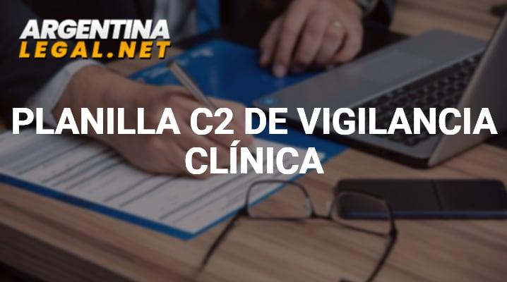Guía Para Completar La Planilla C2 De La Vigilancia Clínica
