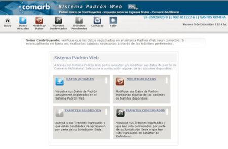 Padrón WEB