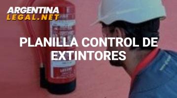 Conoce La Planilla Para Control De Extintores Y Mantén Las Áreas Seguras